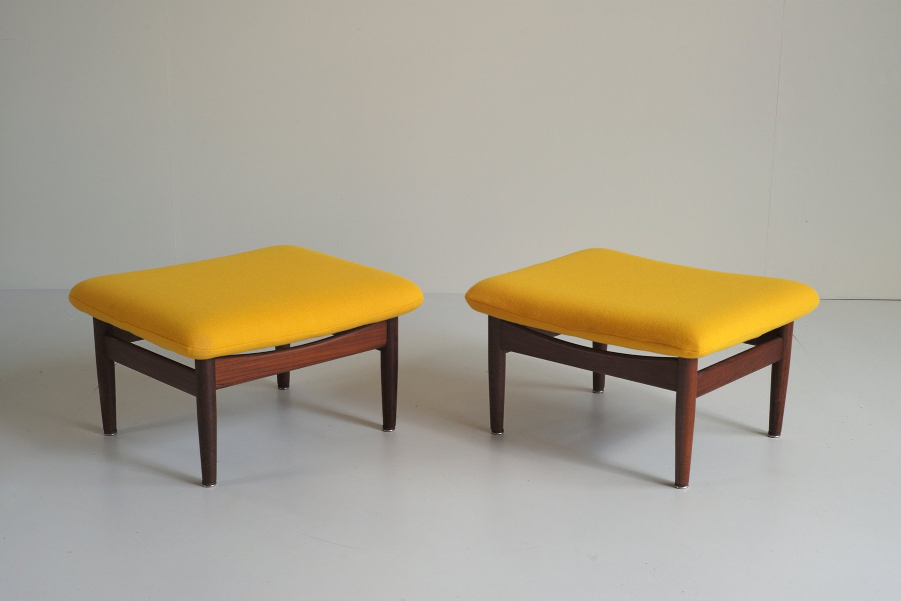 FD 137 Japan Series Stools by Finn Juhl for France & S¸n Set of 2