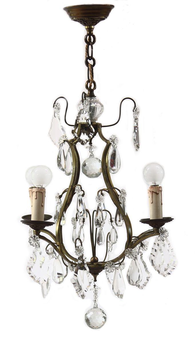 franz sischer vintage kristallglas kronleuchter bei pamono kaufen. Black Bedroom Furniture Sets. Home Design Ideas