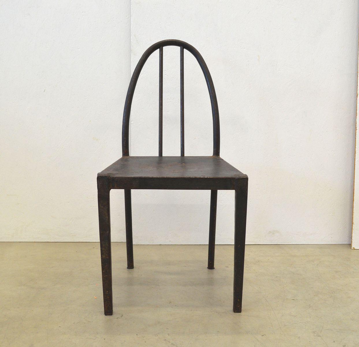 bauhaus st hle mit rohrgestell aus stahl 1930er 5er set. Black Bedroom Furniture Sets. Home Design Ideas