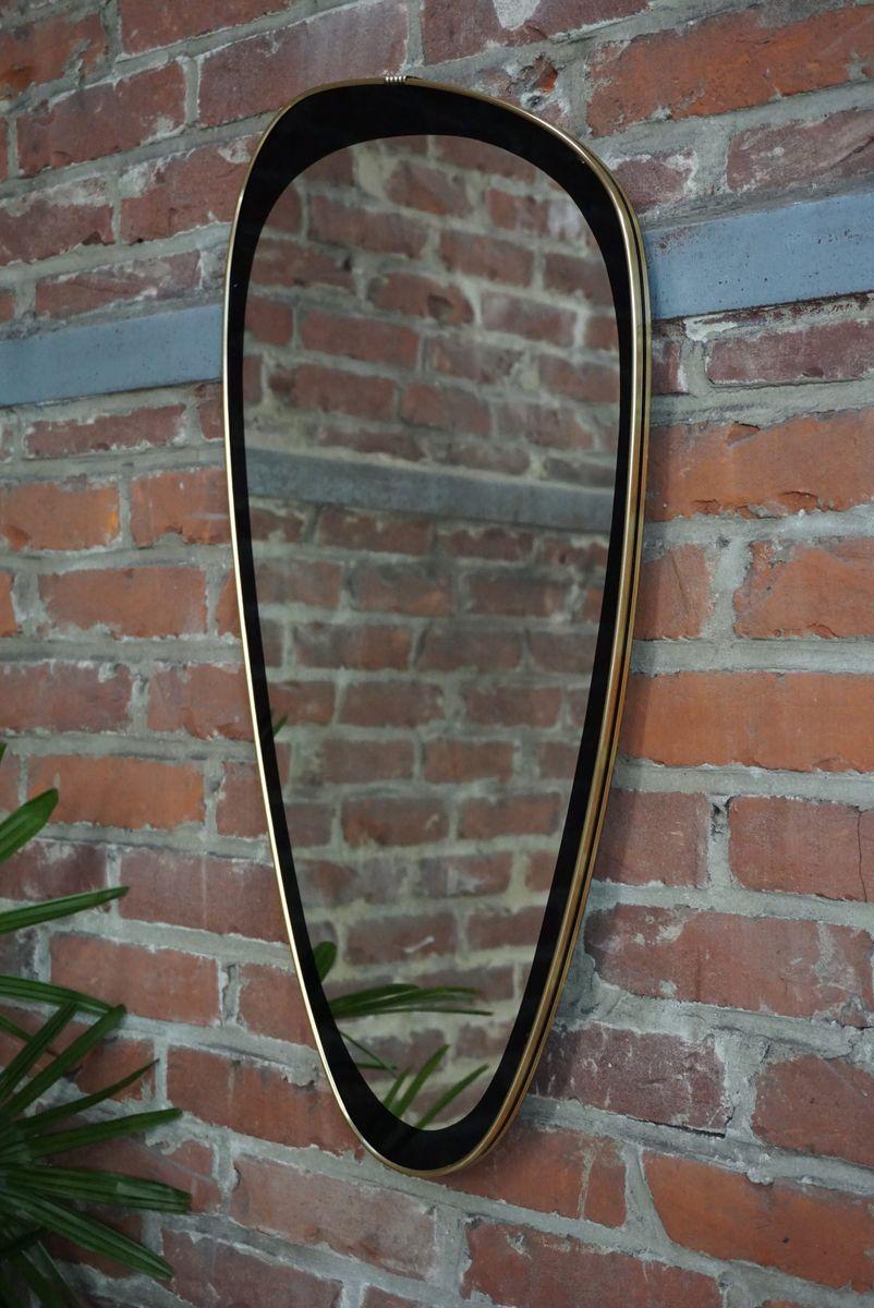 Miroir asym trique 1960s en vente sur pamono for Miroir en solde