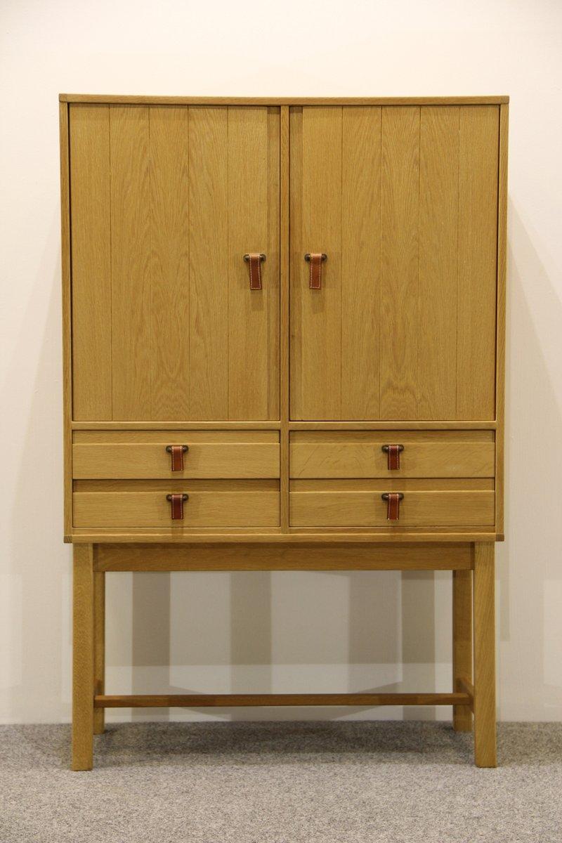 meuble de rangement vintage en ch ne par kurt stervig pour kp m bler en vente sur pamono. Black Bedroom Furniture Sets. Home Design Ideas