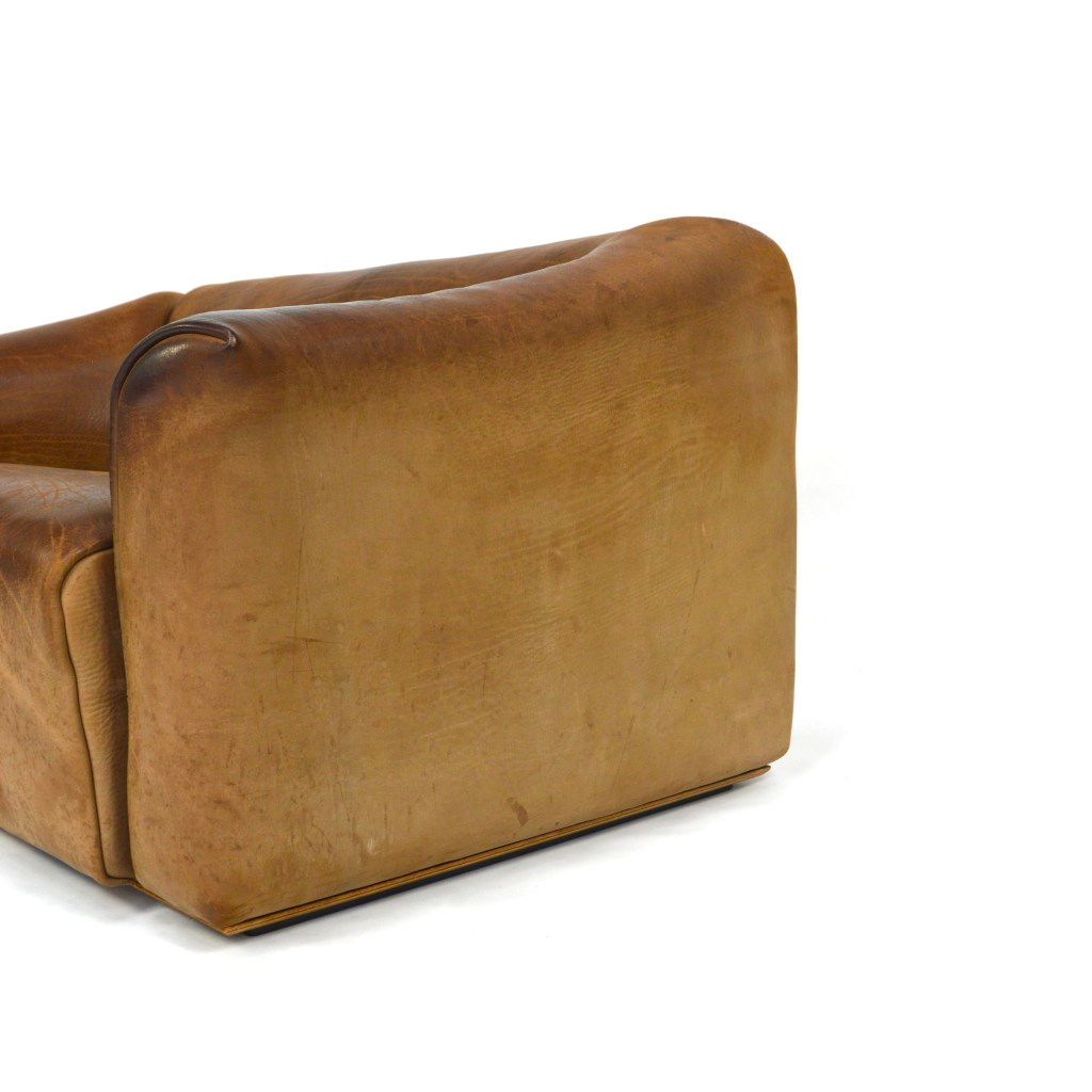 DS-47 2-Seater Buffalo Leather Sofa from de Sede for sale at Pamono
