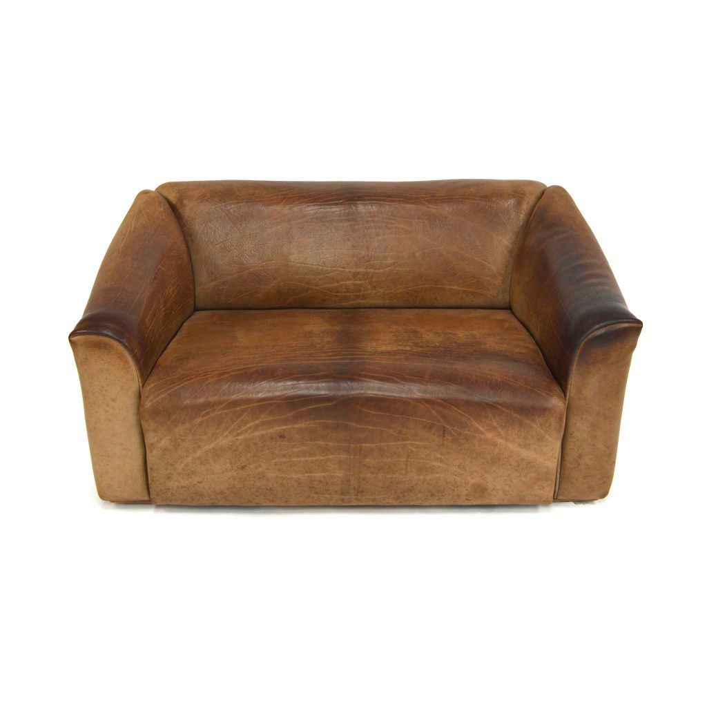Ds 47 2 Seater Buffalo Leather Sofa From De Sede For Sale