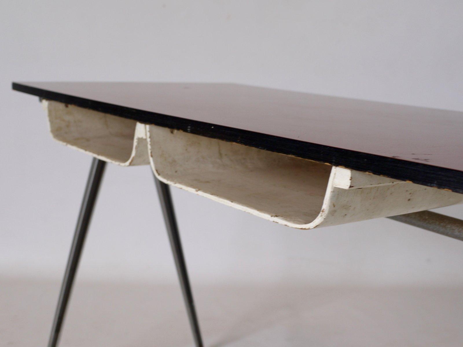 kleiner arbeits oder schreibtisch von james leonard f r esa 1950er bei pamono kaufen. Black Bedroom Furniture Sets. Home Design Ideas
