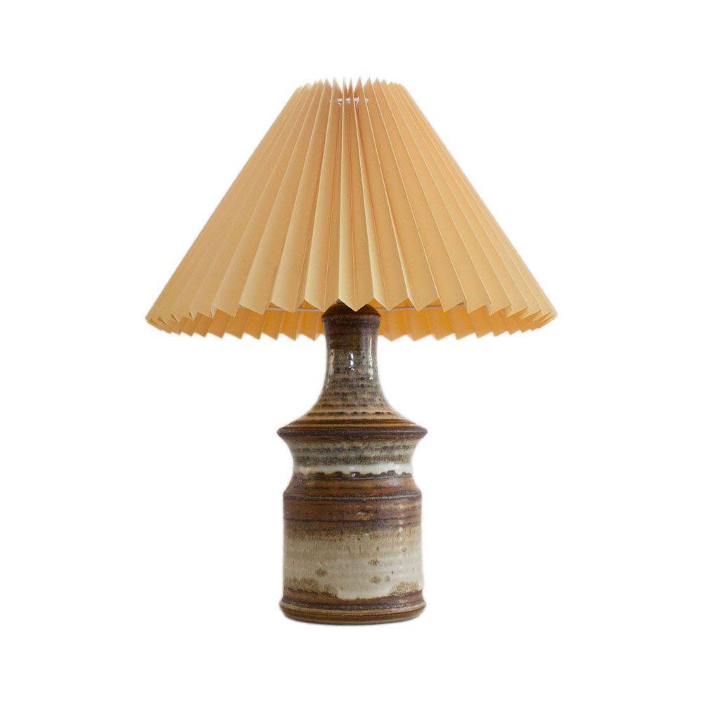 Handmade stoneware table lamp by joseph simon for soholm stentoj 1960s for sale at pamono - Hand made lamps ...