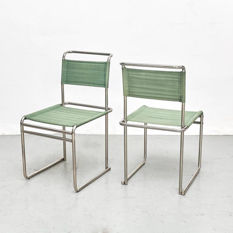 b5 st hle von marcel breuer f r tecta 1970er 2er set bei. Black Bedroom Furniture Sets. Home Design Ideas