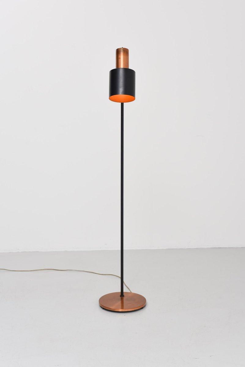 mid century studio stehlampe von jo hammerborg f r fog. Black Bedroom Furniture Sets. Home Design Ideas