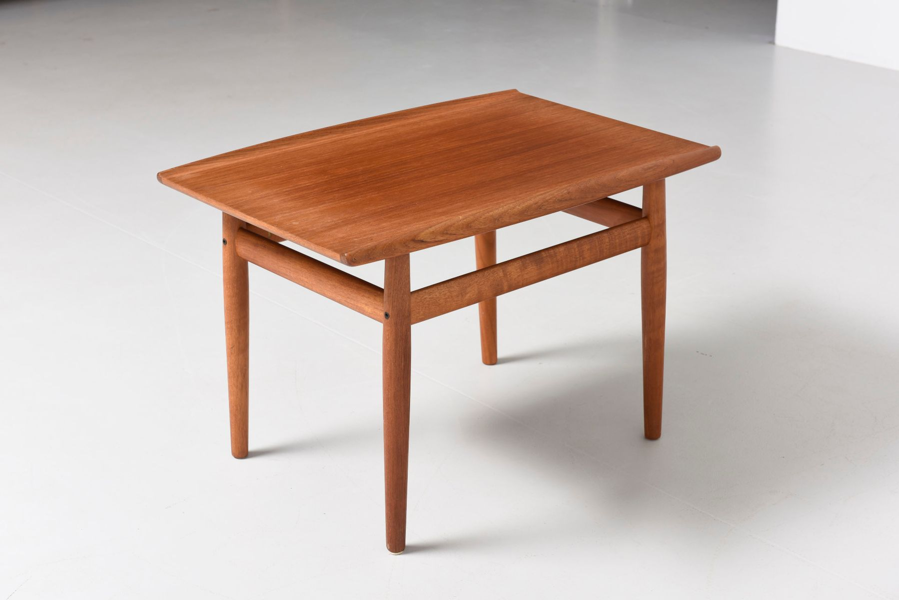 teak side table by grete jalk for glostrup s for sale at pamono - teak side table by grete jalk for glostrup s