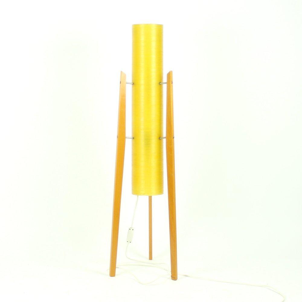 Yellow floor lamp - Yellow Rocket Floor Lamp From Novoplast