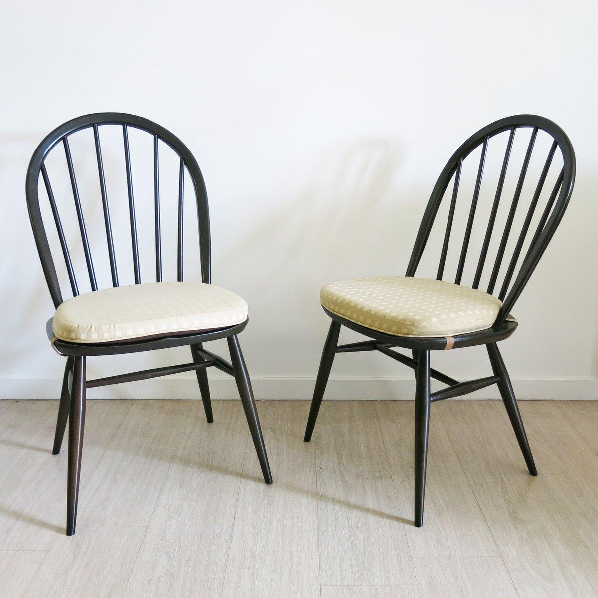windsor st hle von lucian ercolani f r ercol 1970er 2er set bei pamono kaufen. Black Bedroom Furniture Sets. Home Design Ideas