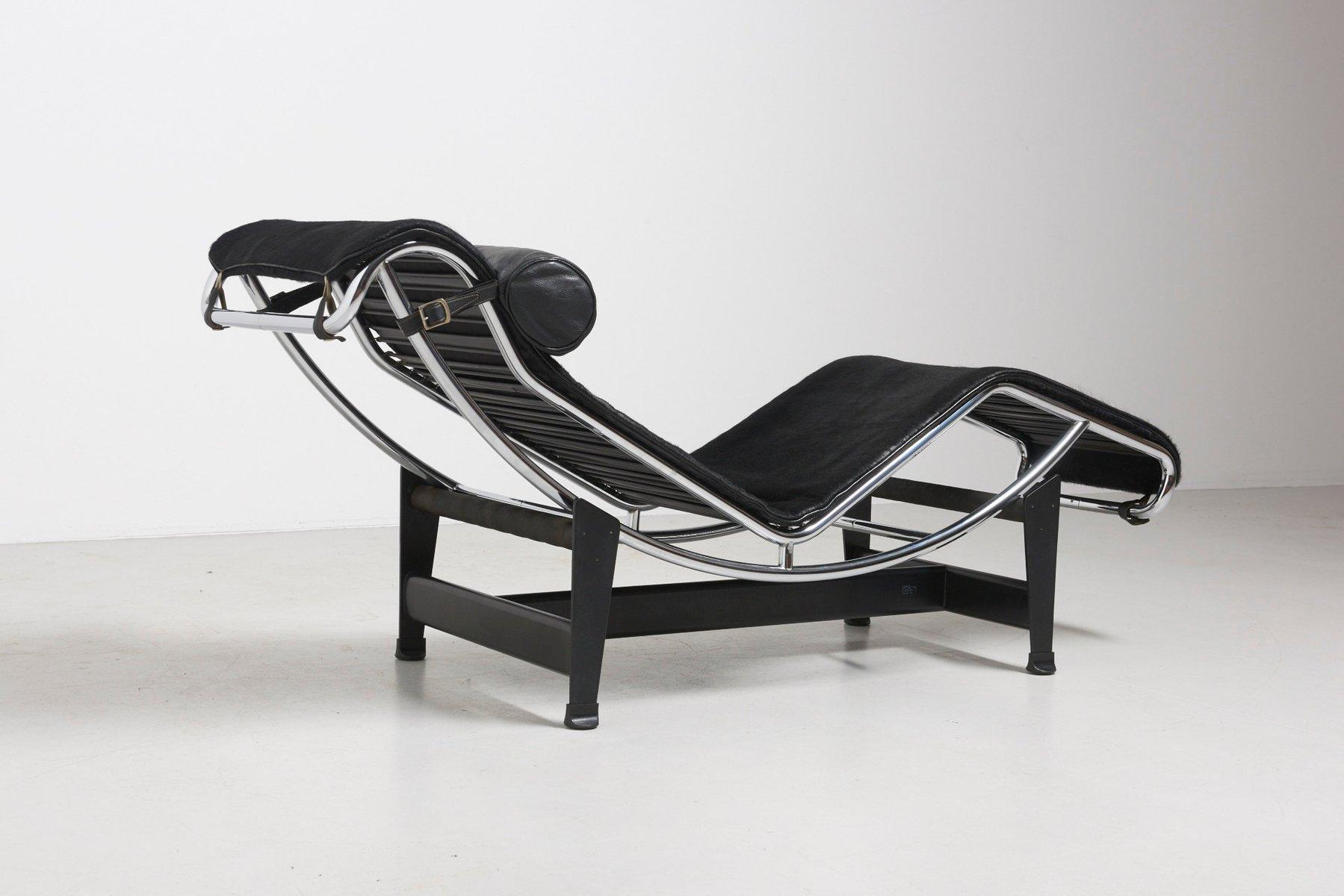 vintage lc4 liege von le corbusier f r cassina bei pamono kaufen. Black Bedroom Furniture Sets. Home Design Ideas
