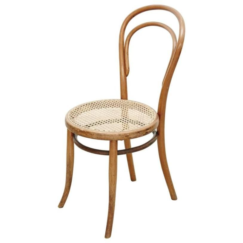 antique bentwood chair by josef hoffmann for kohn 1900s
