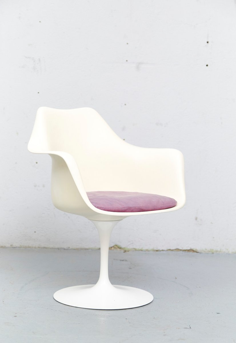 Vintage model 150 tulip chair by eero saarinen for knoll international for sale at pamono - Tulip chairs for sale ...