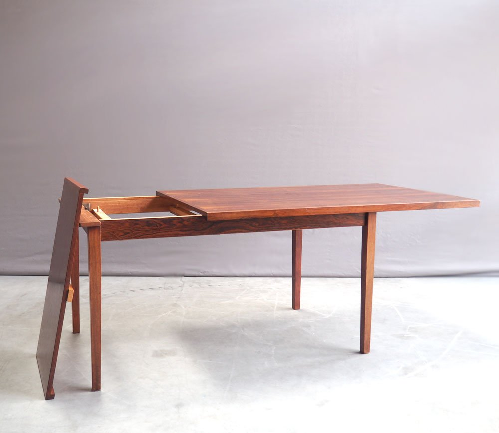 Dutch rosewood extendable dining table 1960s for sale at for Table 6 km turquie