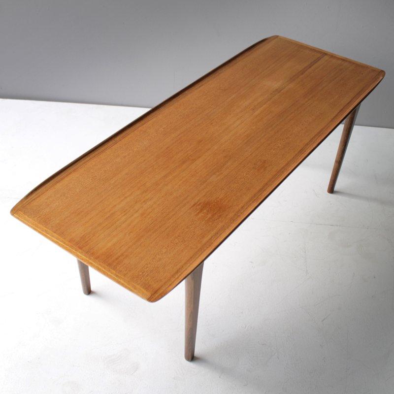 Vintage Danish Teak Coffee Table For Sale At Pamono