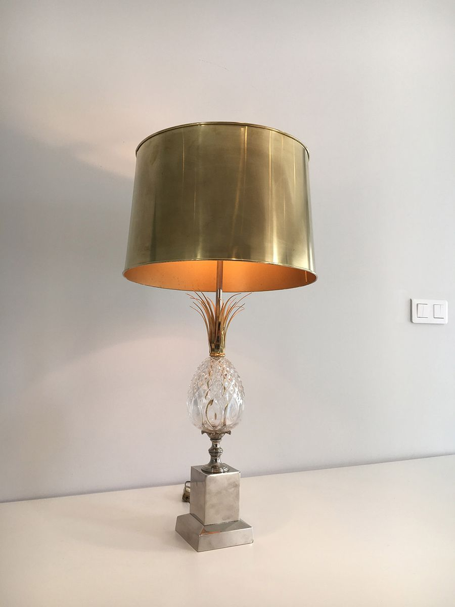 pineapple lamp from maison charles 1960s - Pineapple Lamp