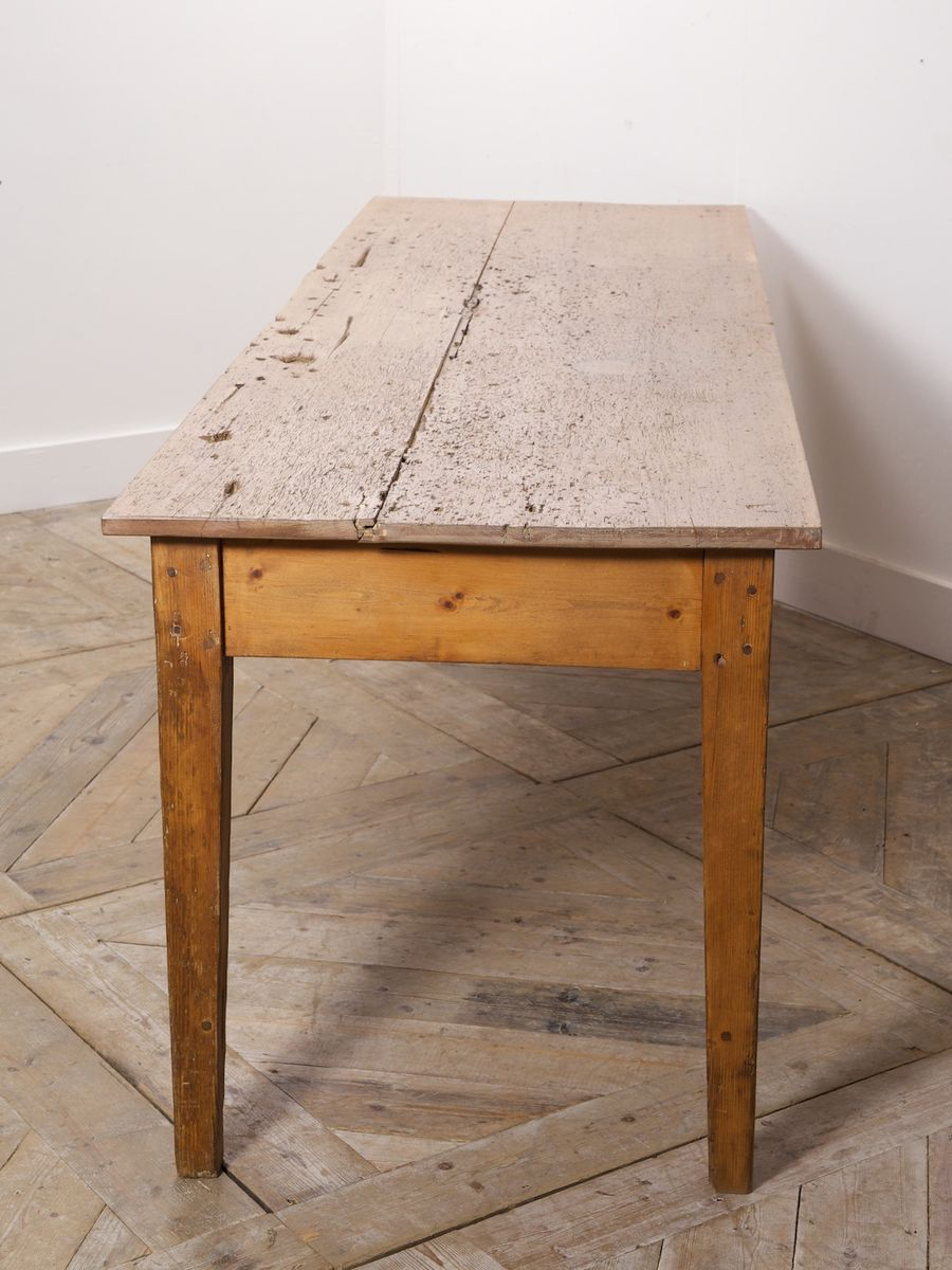 Pine Kitchen Tables For Antique Pine Country Kitchen Table For Sale At Pamono