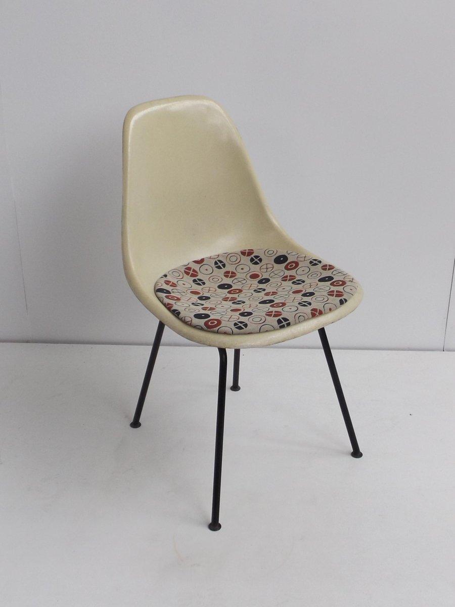chaise d 39 appoint vintage dsx en fibres de verre par charles et ray eames pour herman miller en. Black Bedroom Furniture Sets. Home Design Ideas