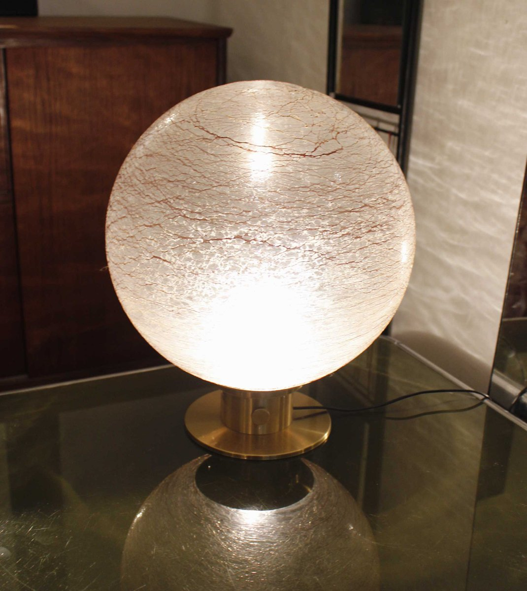 Vintage crystal table lamp - Vintage Crystal Table Lamp With Brass Base 3 582 00 Price Per Piece