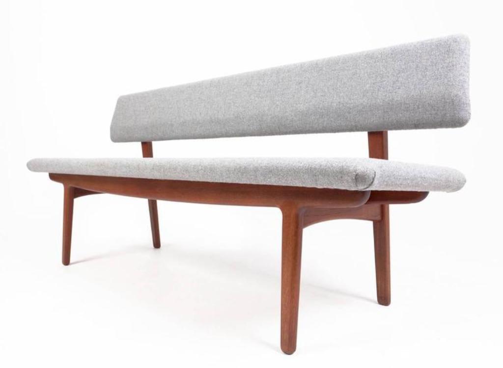 vintage teak bench by ejnar larsen u0026 axel bender madsen for nstved mbelfabrik - Teak Bench