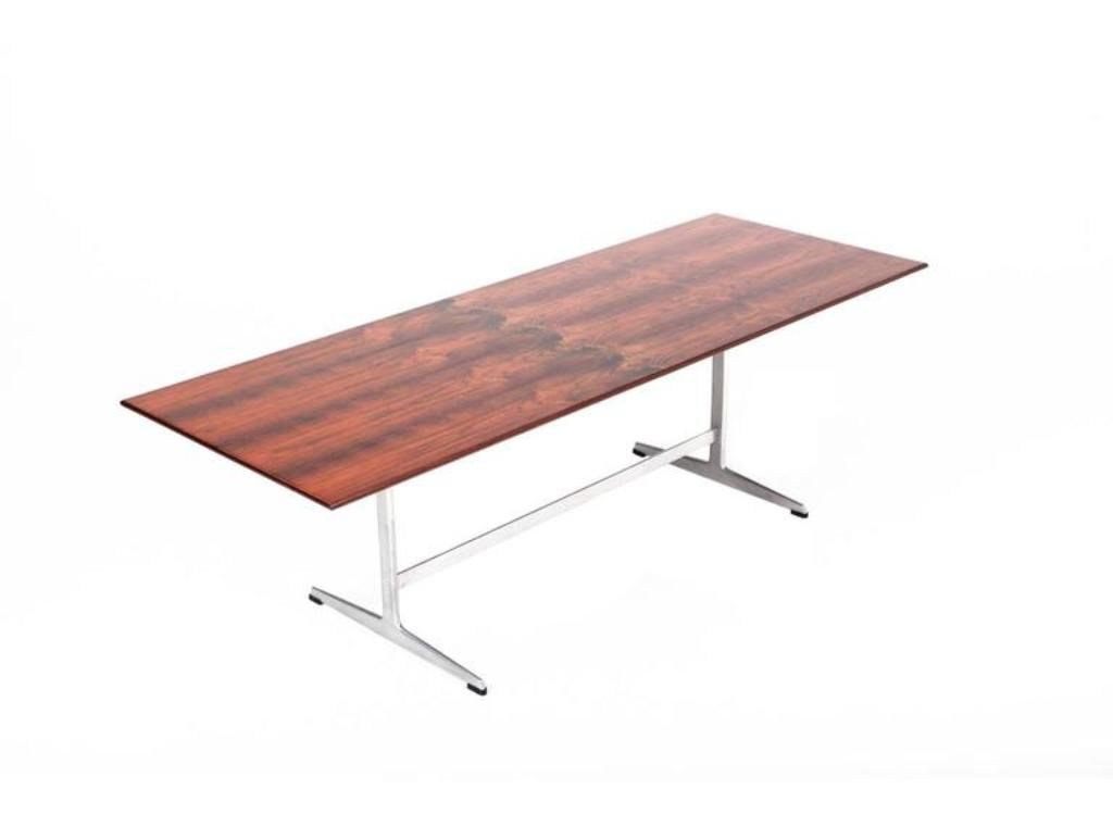 Vintage Rosewood Shaker Coffee Table By Arne Jacobsen For Sale At Pamono