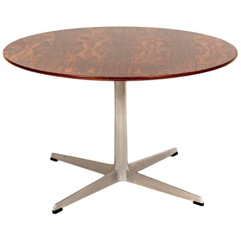 Table basse vintage mod le 3513 en palissandre par arne for Table basse palissandre