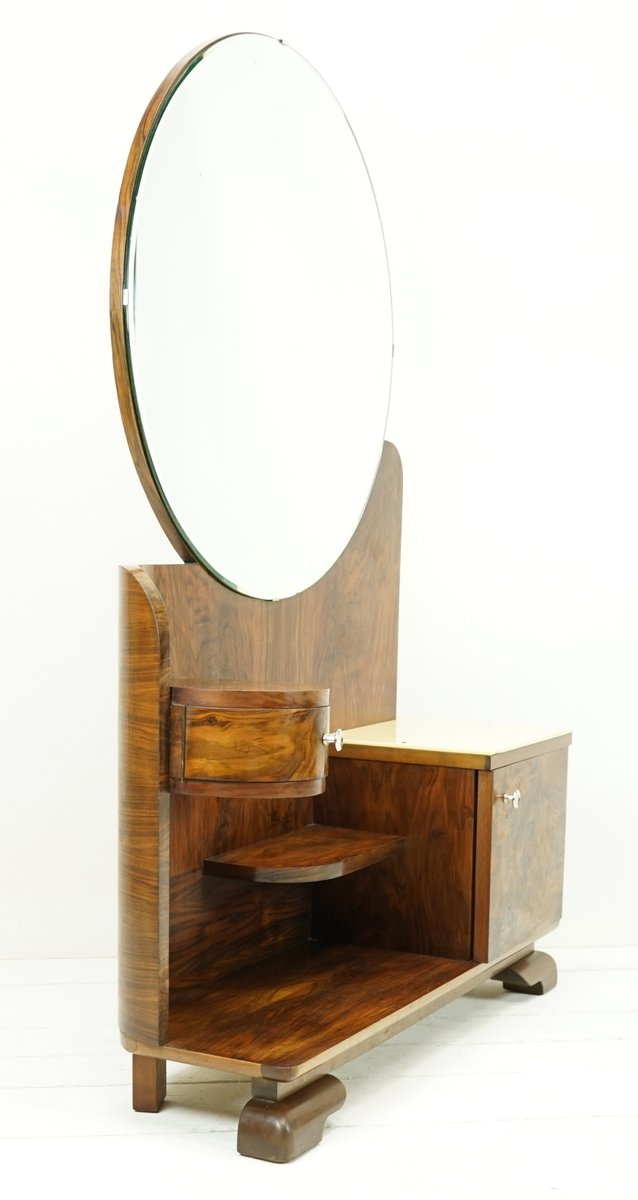 art deco bathroom mirror cabinet deco mirror cabinet 1930s for at pamono 21927