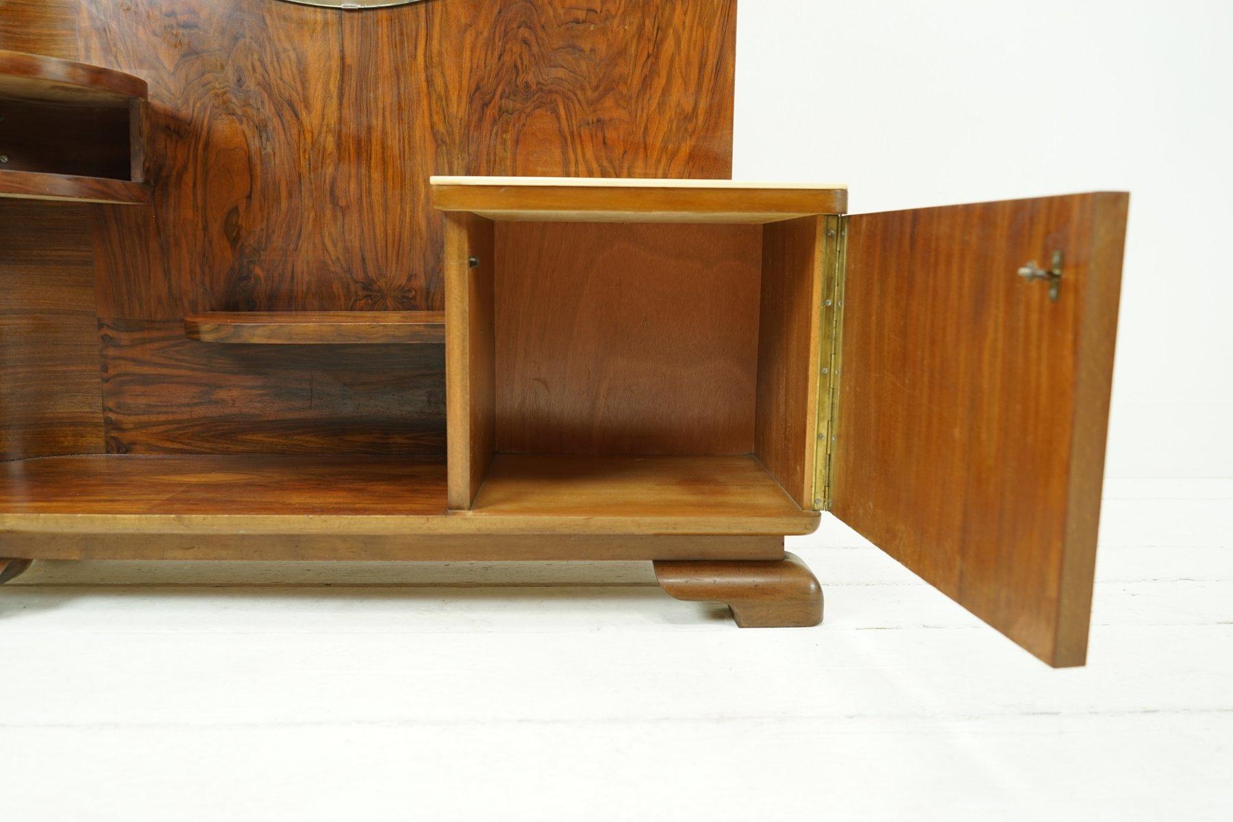 meuble de rangement avec miroir art d co 1930s en vente sur pamono. Black Bedroom Furniture Sets. Home Design Ideas