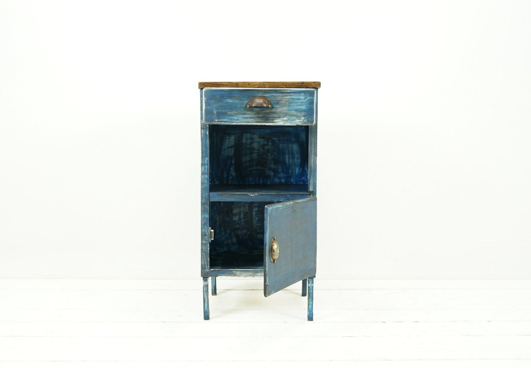 Meuble de rangement vintage industriel d 39 usine en m tal en vente sur pamono - Usine de meuble en belgique ...