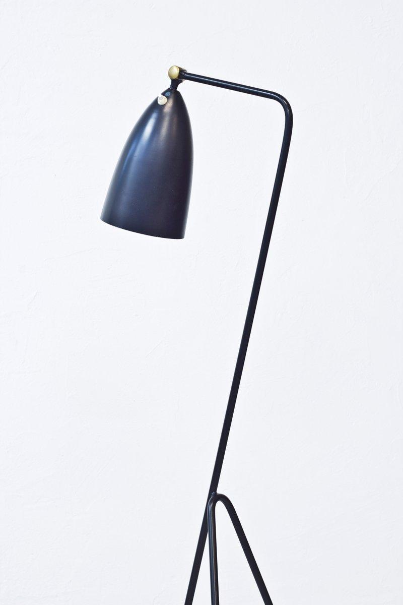 grasshopper g 33 floor lamp by greta magnusson grossman. Black Bedroom Furniture Sets. Home Design Ideas