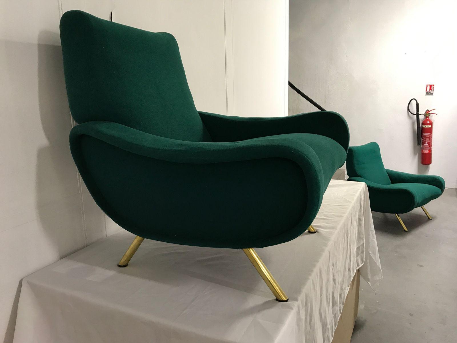 Arflex Poltrone. Fabulous A Pair Of Italian Armchairs By Arflex With ...