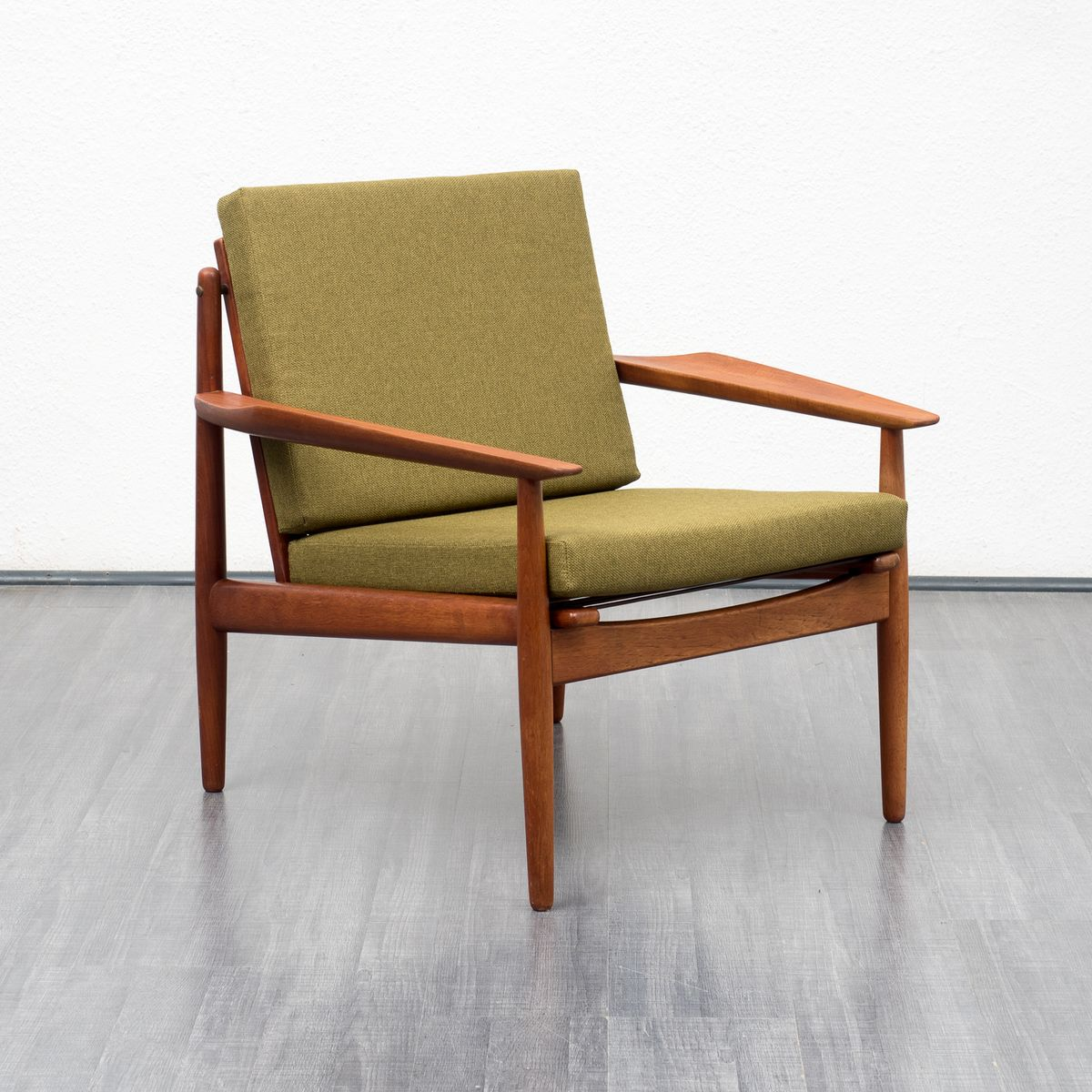 danish teak armchair by arne vodder for glostrup 1960s for sale at