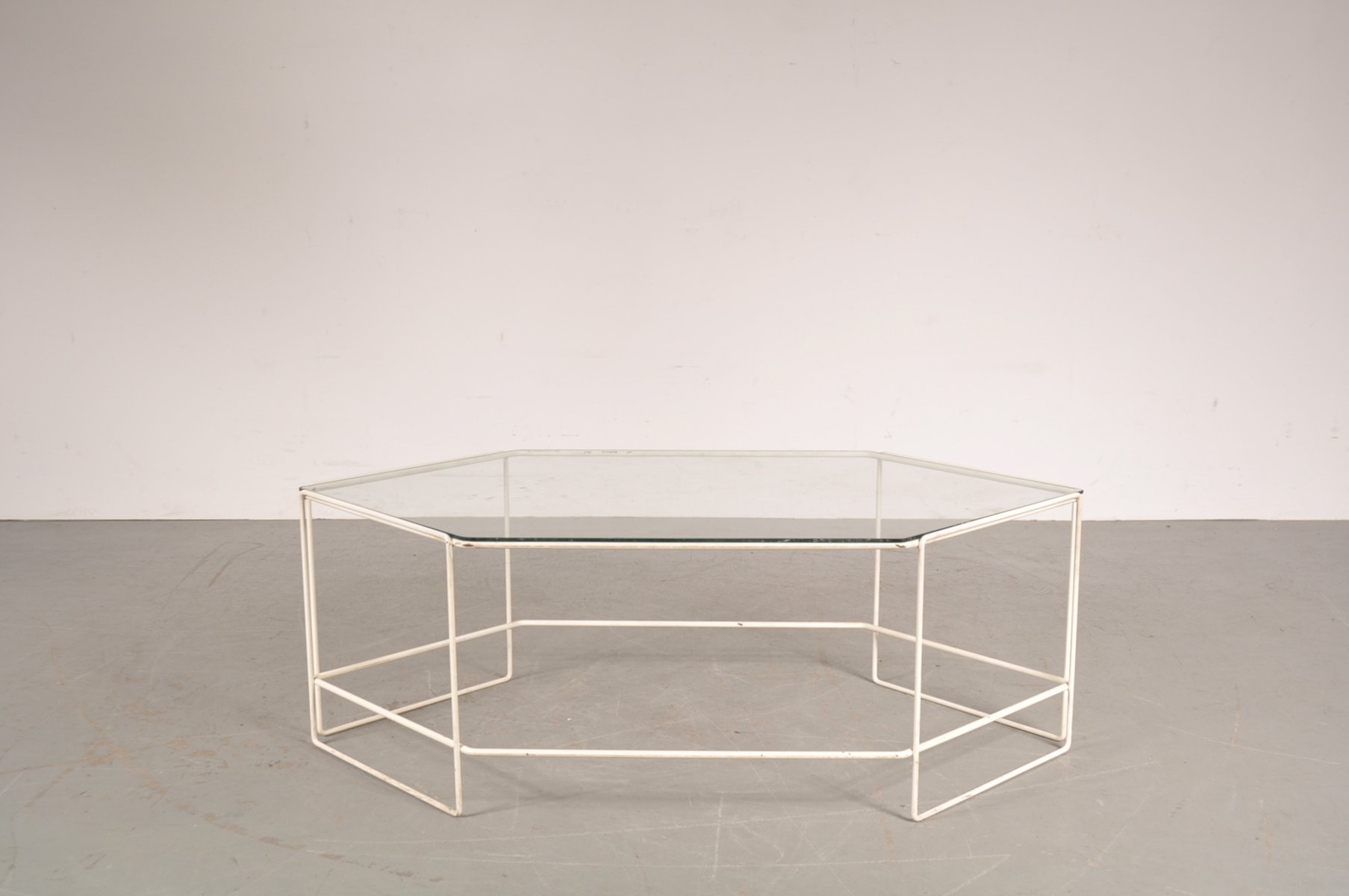 Hexagon Coffee Table 1960s for sale at Pamono