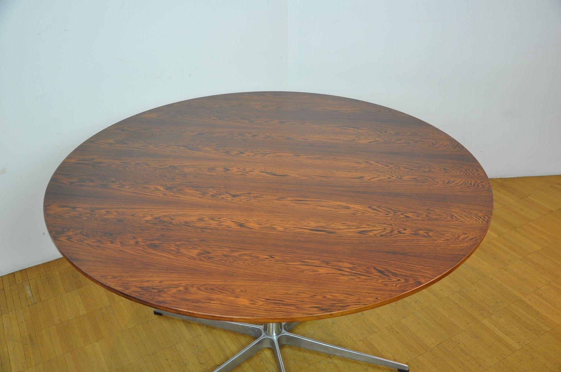 danish dining table by arne jacobsen for fritz hansen 1960s for sale
