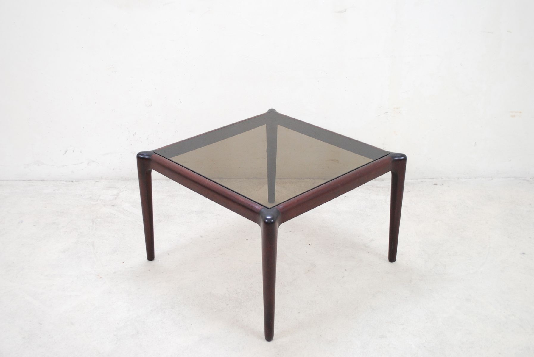 Vintage Mahogony U0026 Smoked Glass Coffee Table 10. U20ac690.00