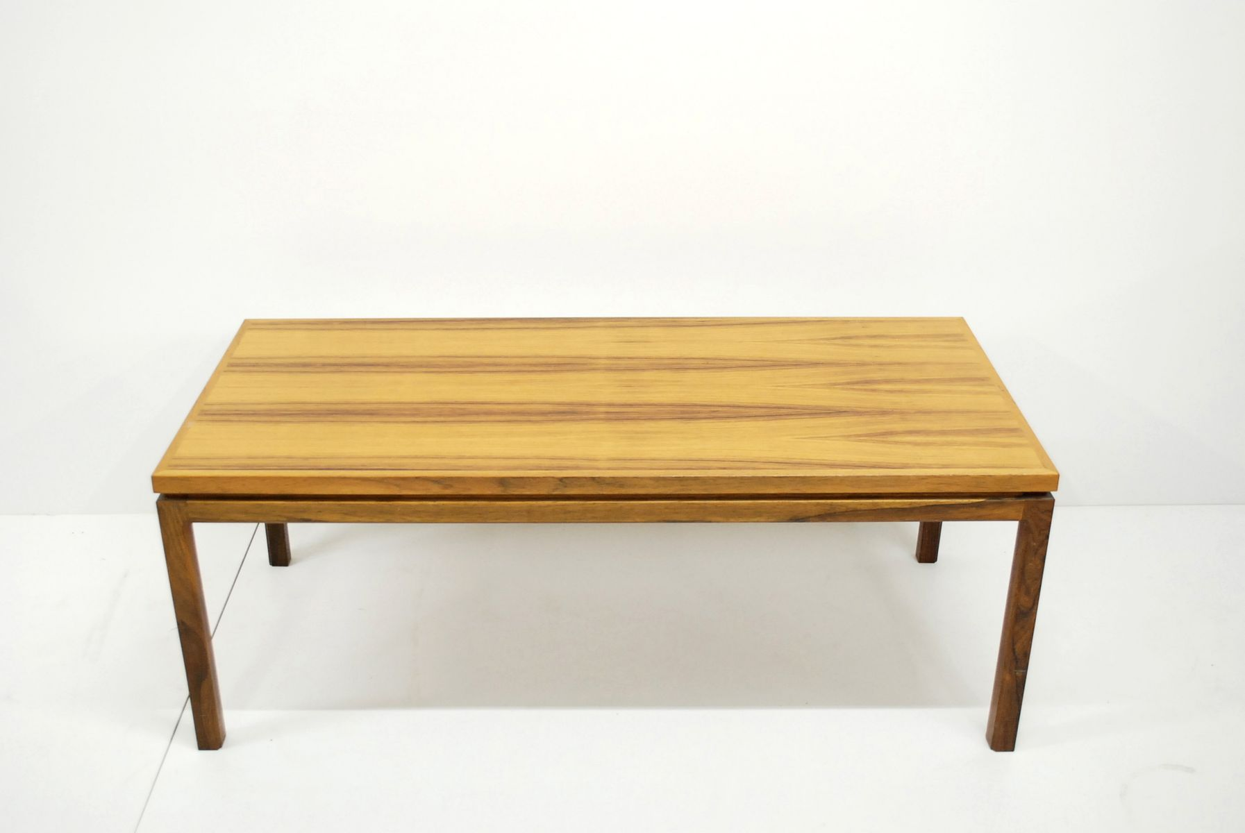 Large Vintage Danish Rosewood Coffee Table For Sale At Pamono