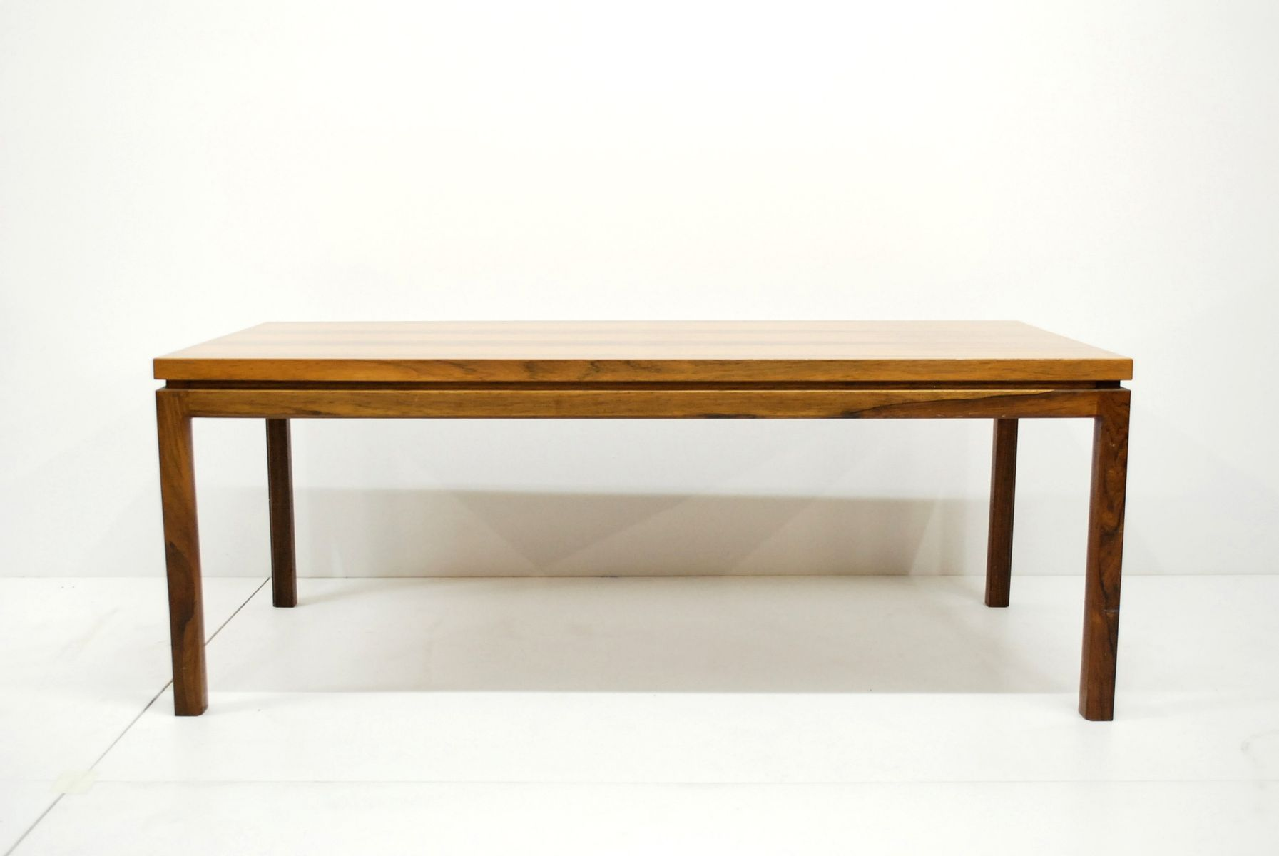 Vintage Danish Rosewood Coffee Table for sale at Pamono