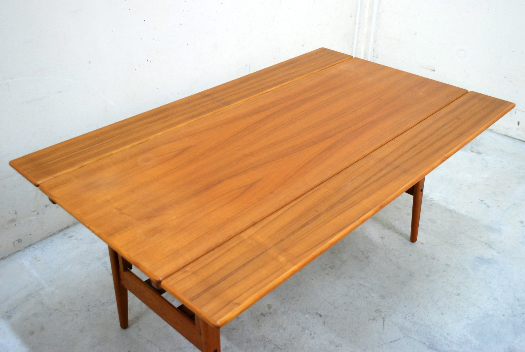 Vintage Danish Convertible Metaphoric Dining Table from Trioh for
