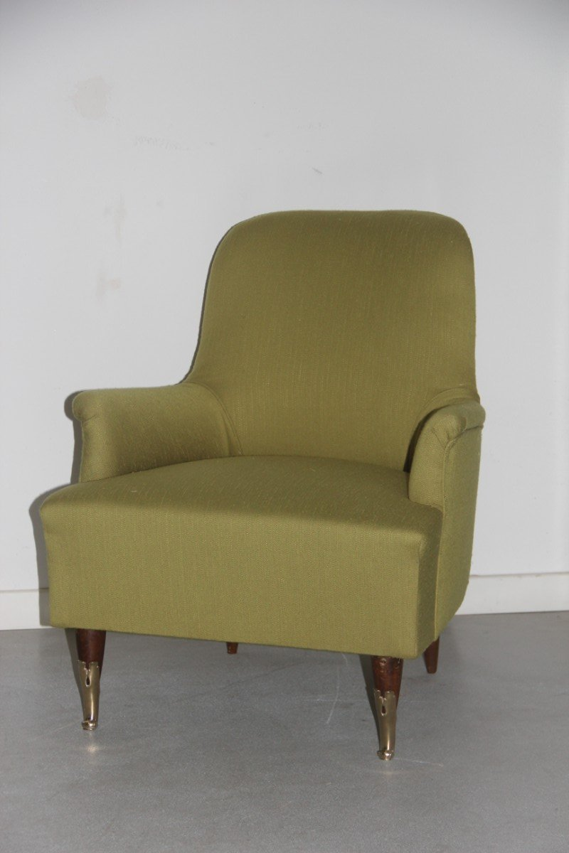 Green italian armchairs 1950s set of 2 for sale at pamono for 2 armchairs for sale