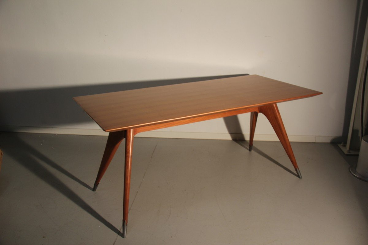 Minimalist italian dining table 1950s for sale at pamono - Dining tables for small spaces sale minimalist ...