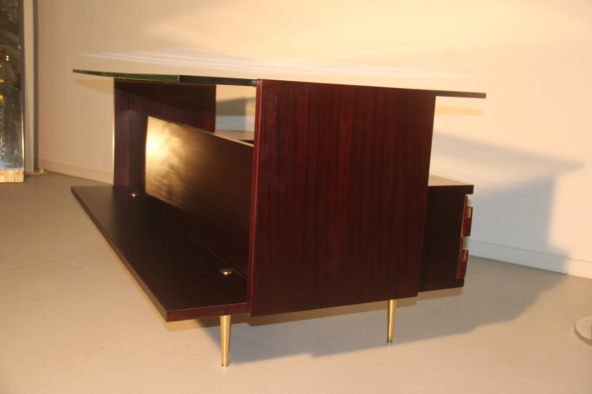 Italian minimalist desk 1950s for sale at pamono for Minimalist desk