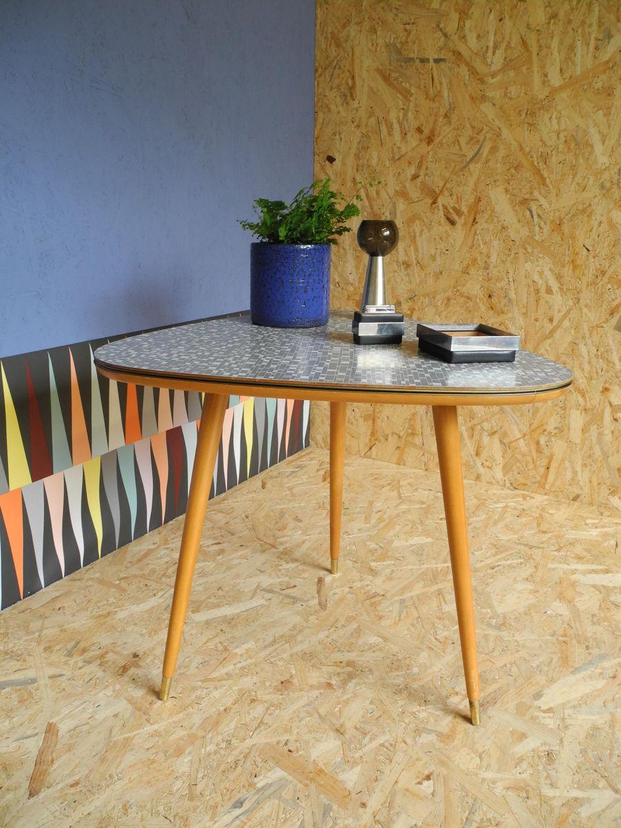vintage cocktailtisch mit karomuster von ilse m bel bei pamono kaufen. Black Bedroom Furniture Sets. Home Design Ideas