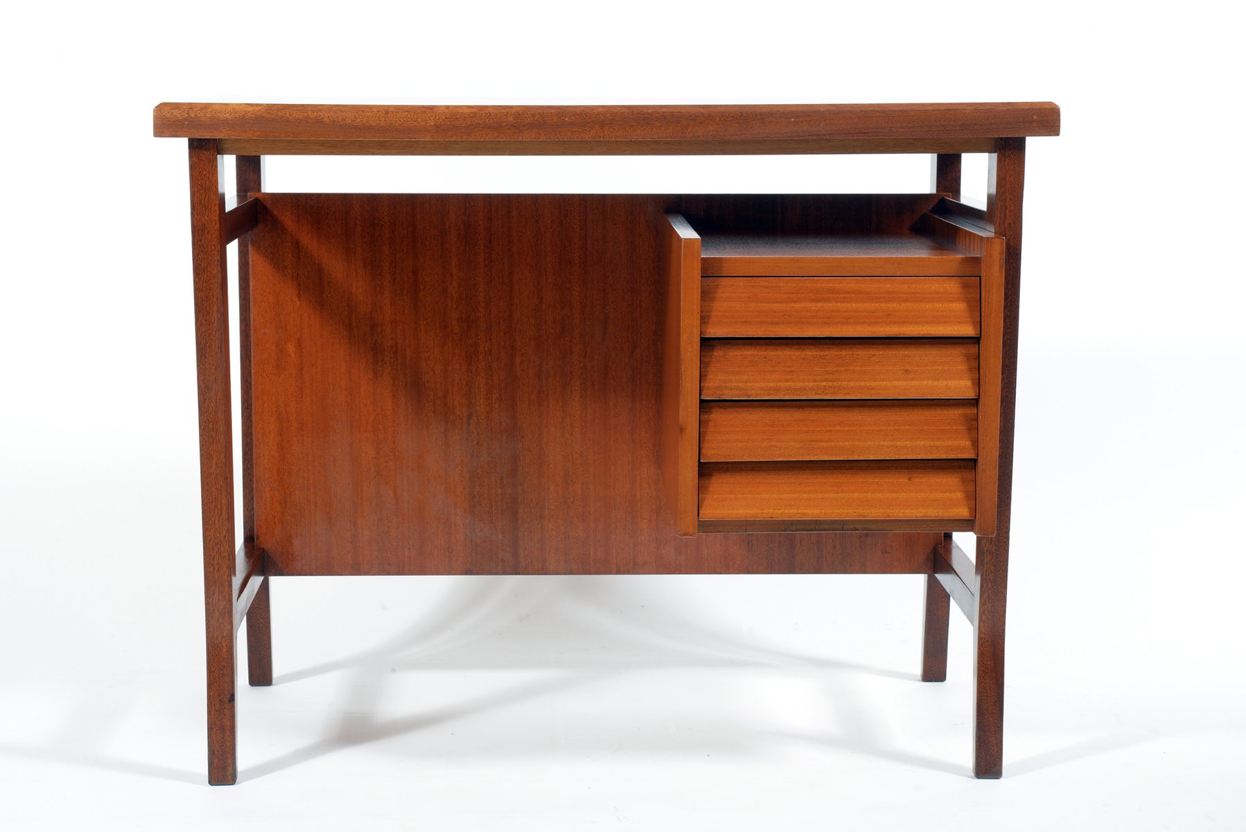 Small Italian Writing Desk by Gio Ponti for Schirolli 1950s for