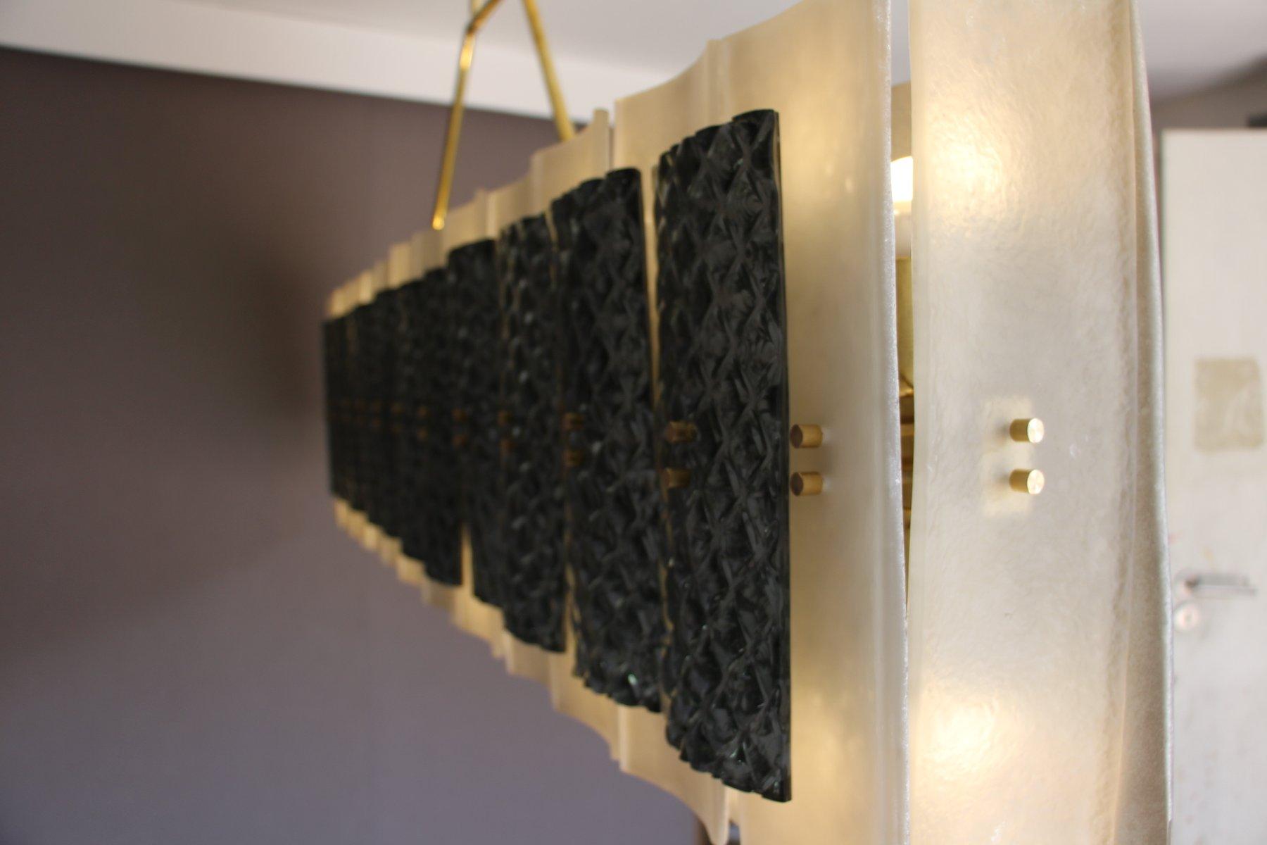 plafonnier rectangulaire 1970s en vente sur pamono. Black Bedroom Furniture Sets. Home Design Ideas