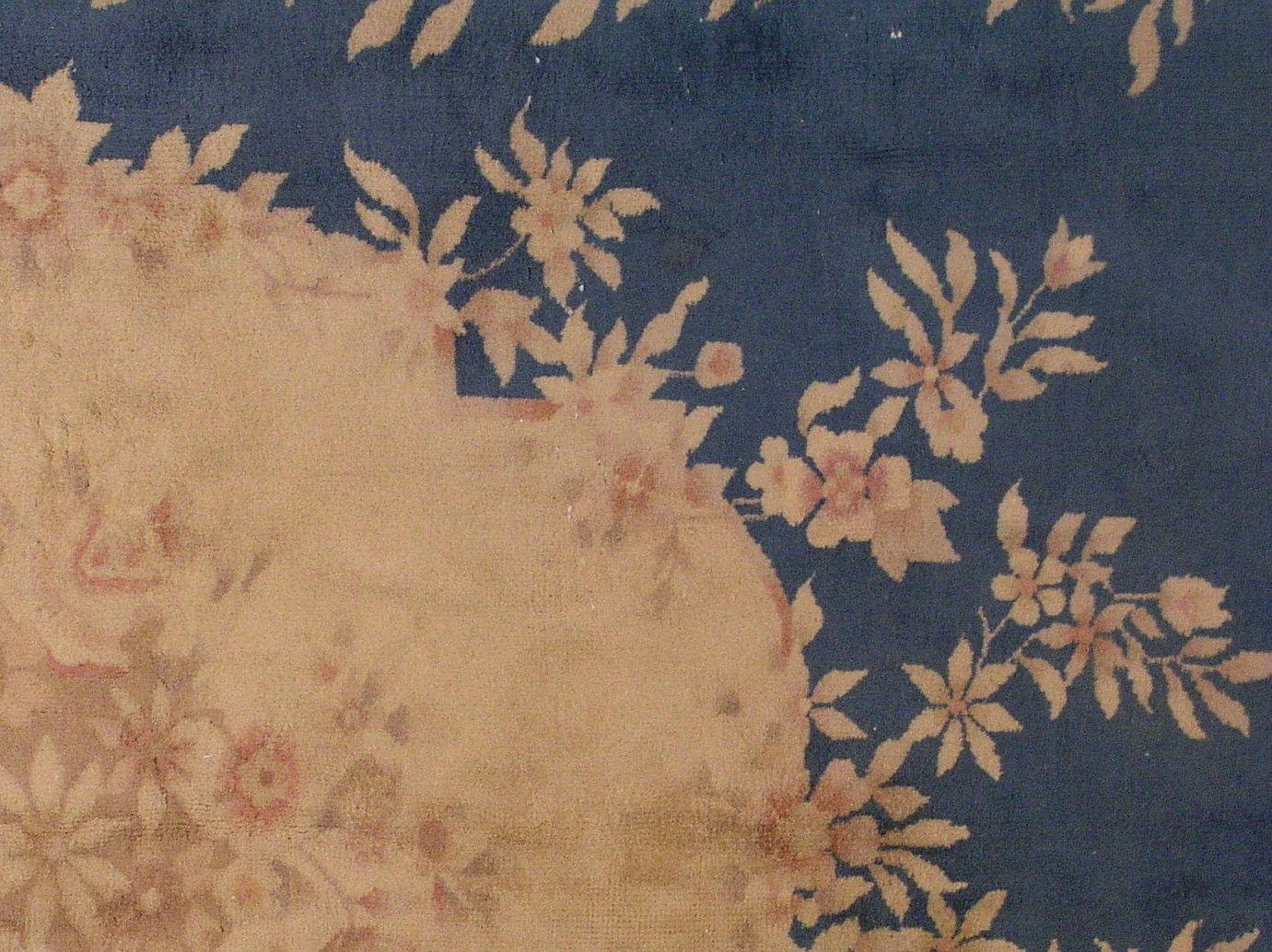 handgemachter chinesischer vintage art deco teppich 1930er bei pamono kaufen. Black Bedroom Furniture Sets. Home Design Ideas