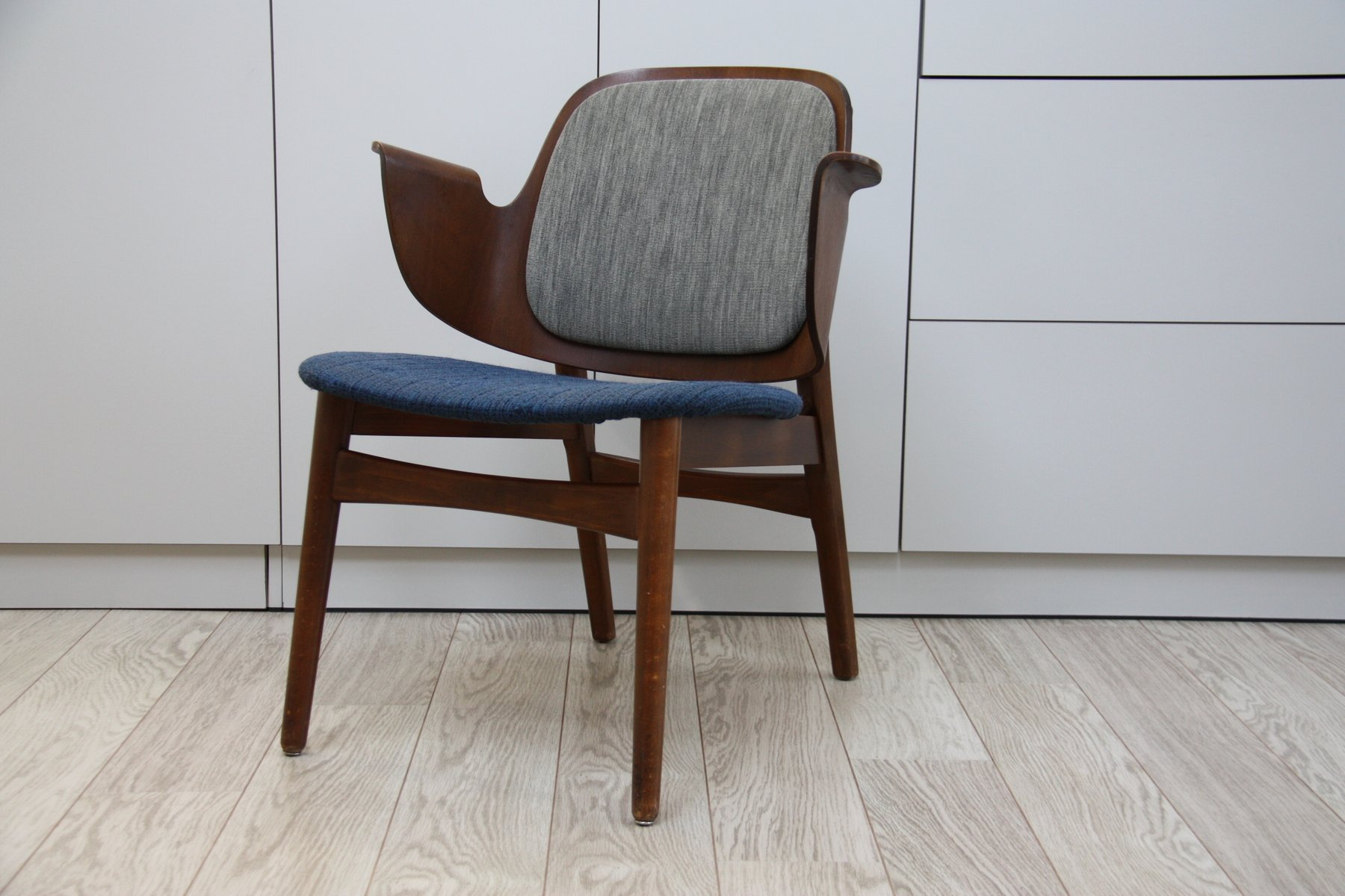 Nice Model 107 Armchair By Hans Olsen For Brahmin Mobler, 1957