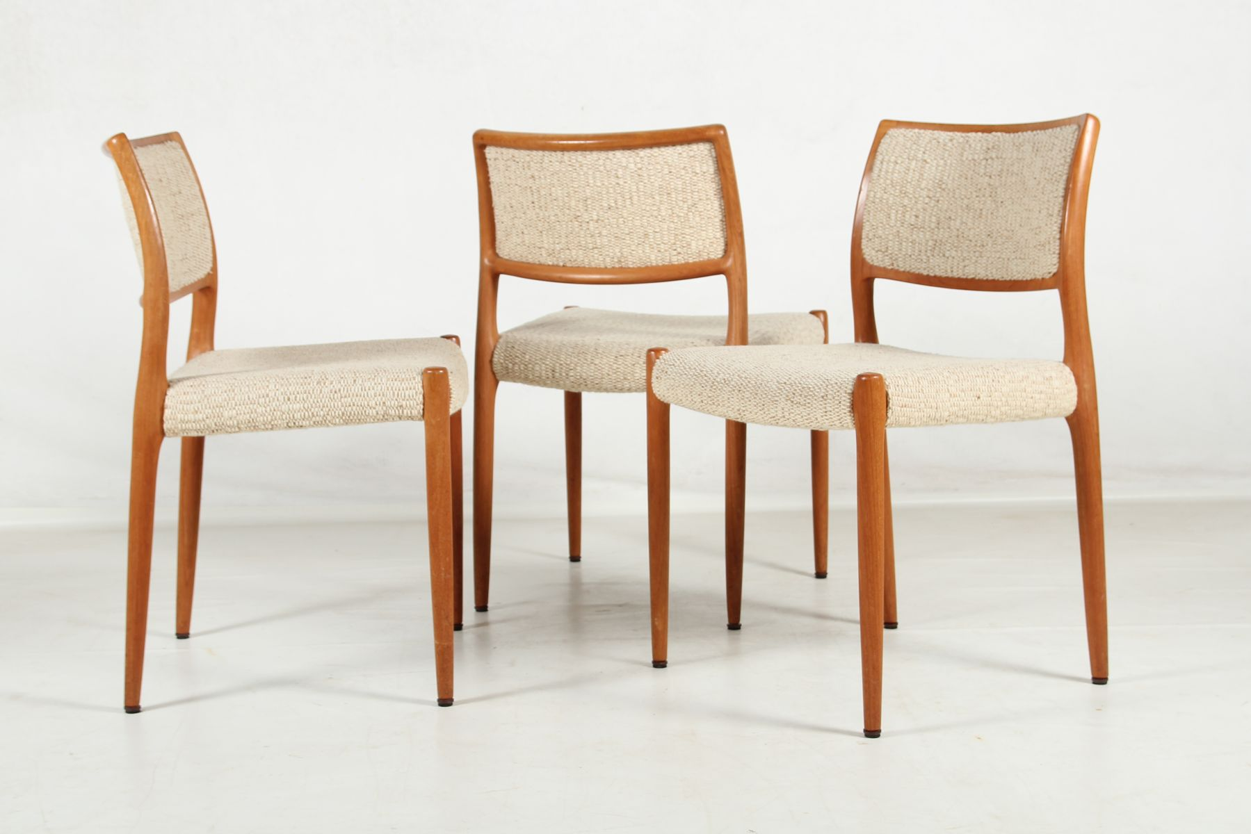 Model 80 teak chairs by niels o m ller for j l m llers for 80s furniture for sale
