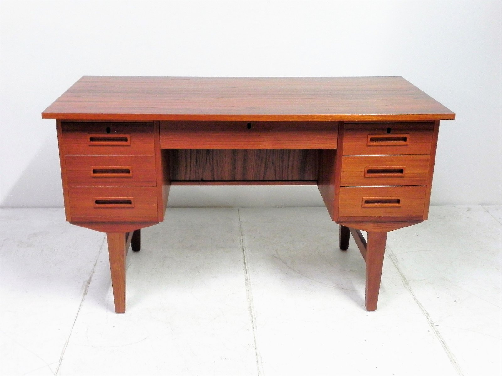 Scandinavian Desk vintage scandinavian teak office desk for sale at pamono