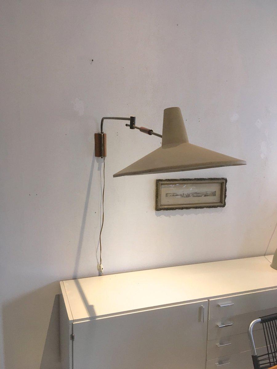 applique murale vintage avec bras articul pays bas en. Black Bedroom Furniture Sets. Home Design Ideas