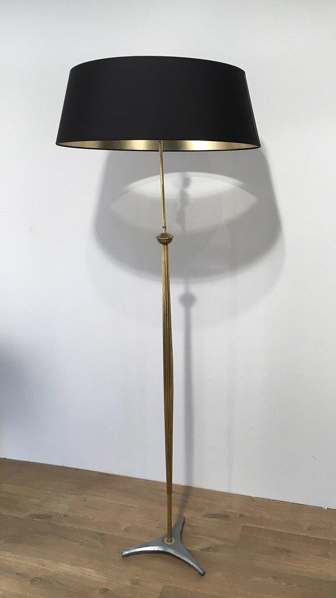 lampadaire en laiton avec pieds trois toiles 1960s en vente sur pamono. Black Bedroom Furniture Sets. Home Design Ideas